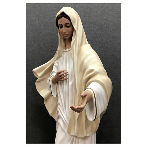 Our Lady of Medjugorje statue 170 cm painted fiberglass 9