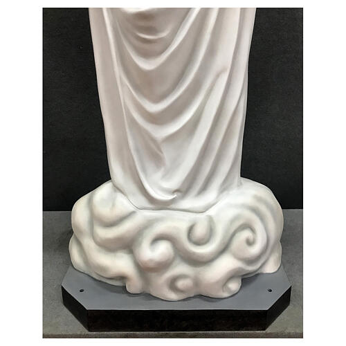 Our Lady of Medjugorje statue 170 cm painted fiberglass 11