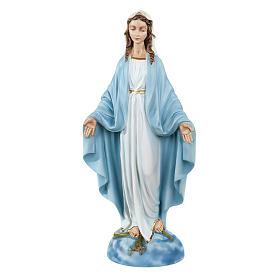 Statua Madonna Immacolata marmo sintetico 40 cm s1