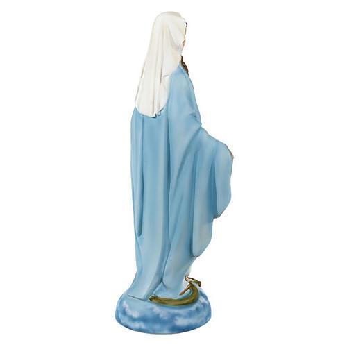 Statua Madonna Immacolata marmo sintetico 40 cm 5