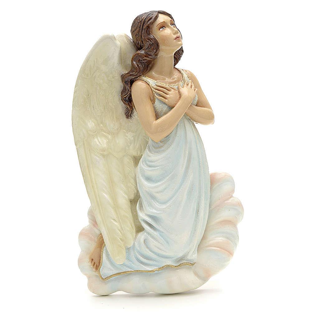 Ange à accrocher marbre reconstitué 25 cm 3