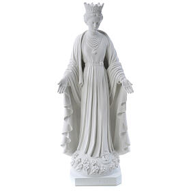 Our Lady of Purity statue in reconstituted marble 70 cm