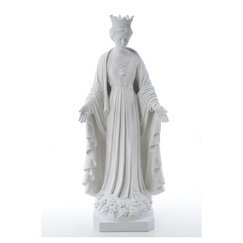Virgen de la Pureza de mármol sintético 70 cm 5