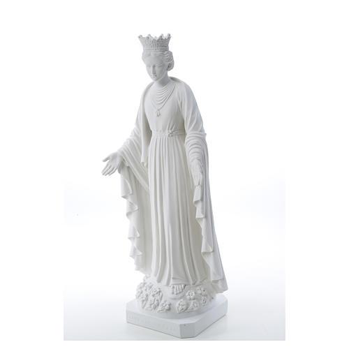 Virgen de la Pureza de mármol sintético 70 cm 6