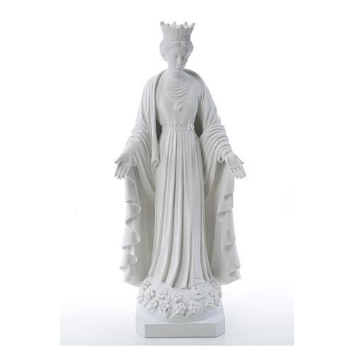Virgen de la Pureza de mármol sintético 70 cm 1
