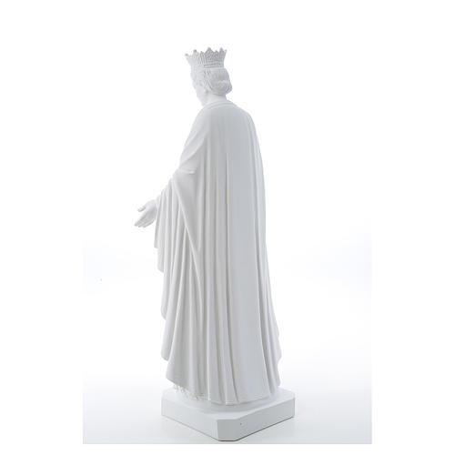 Virgen de la Pureza de mármol sintético 70 cm 3