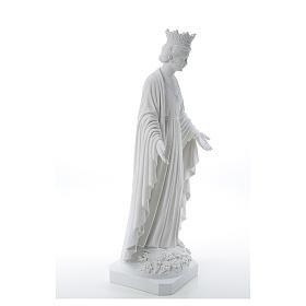 Madonna della purezza marmo sintetico 70 cm s4