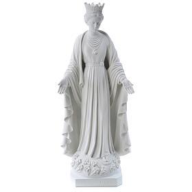 Madonna della purezza marmo sintetico 70 cm s1