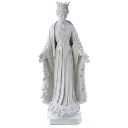 Madonna della purezza marmo sintetico 70 cm 1