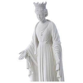 Nossa Senhora da Pureza mármore sintético 70 cm