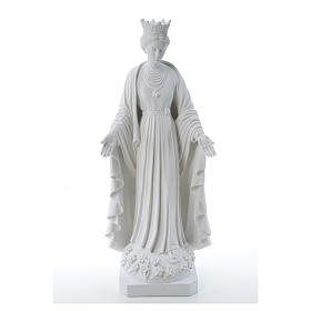 Our Lady of Purity statue in composite marble 70 cm s5