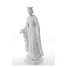 Our Lady of Purity statue in composite marble 70 cm s6