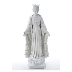 Our Lady of Purity statue in composite marble 70 cm s1