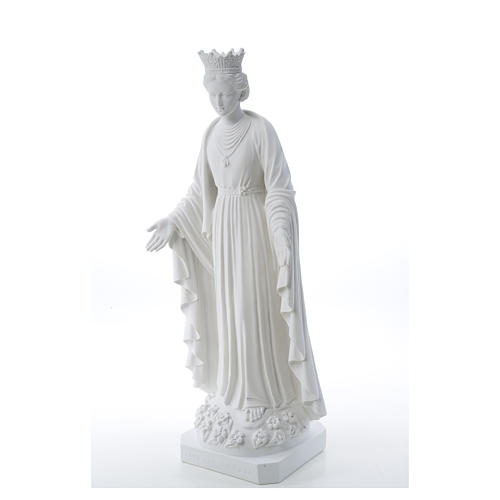 Our Lady of Purity statue in composite marble 70 cm 6