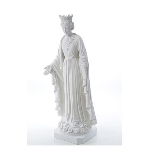 Our Lady of Purity statue in composite marble 70 cm 2