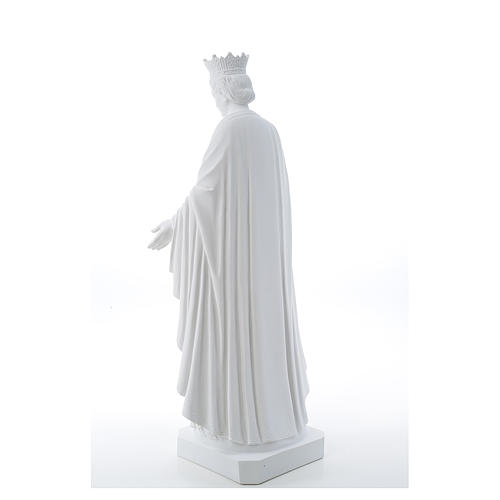 Our Lady of Purity statue in composite marble 70 cm 3