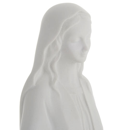 Our Lady Immaculate statue in reconstituted marble 40 cm 3