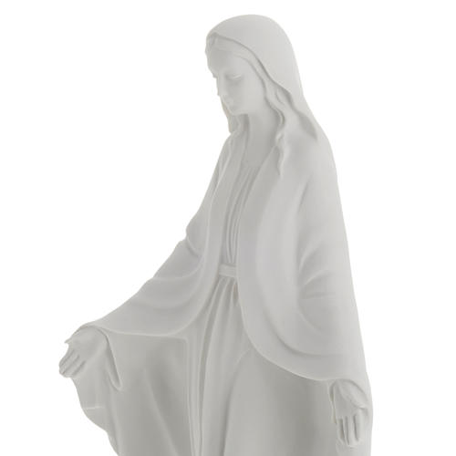 Our Lady Immaculate statue in reconstituted marble 40 cm 4