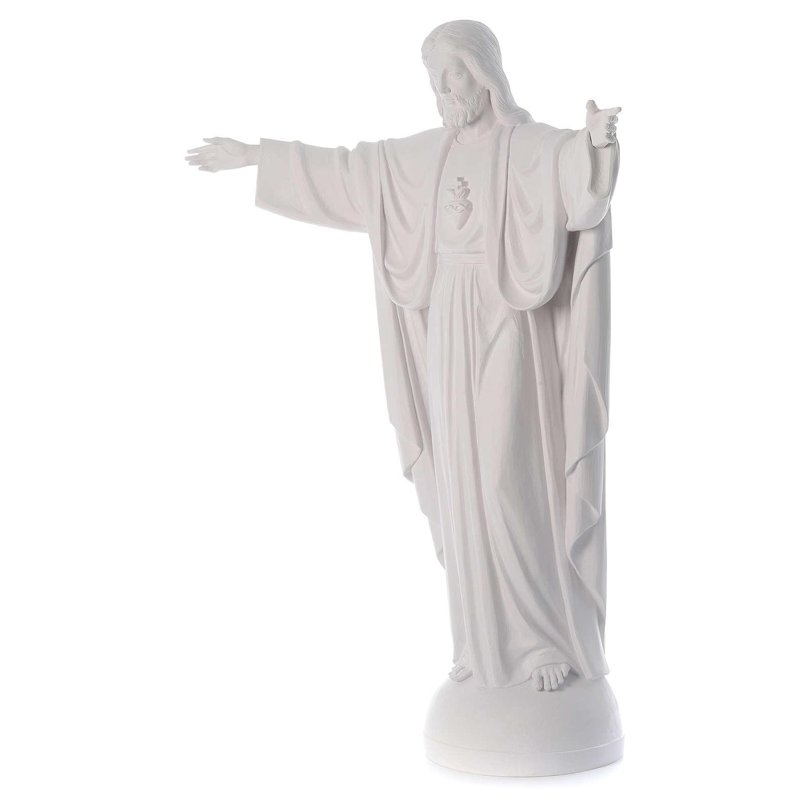 Christ the Redeemer statue in fiberglass 160 cm 4
