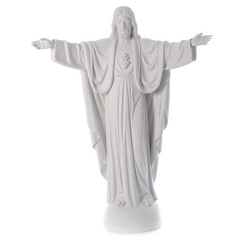 Cristo Redentor fibra de vidrio 160 cm