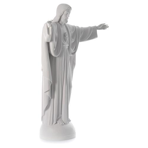 Cristo Redentor fibra de vidrio 160 cm 3
