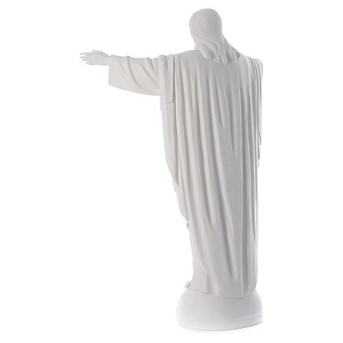 Cristo Redentor fibra de vidrio 160 cm 4