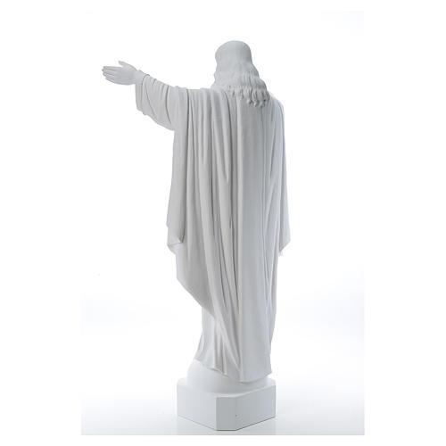 Cristo Redentor de mármol 100 cm 3