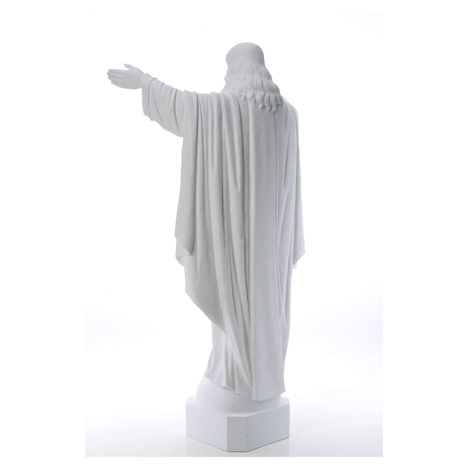 Christ Rédempteur poudre de marbre 100 cm 4