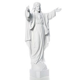 Christ Rédempteur poudre de marbre 100 cm s8