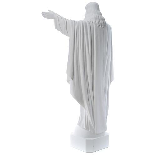 Christ Rédempteur poudre de marbre 100 cm 5