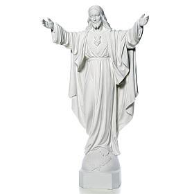 Cristo Redentore marmo 100 cm s5
