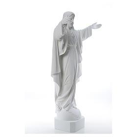Cristo Redentore marmo 100 cm s4