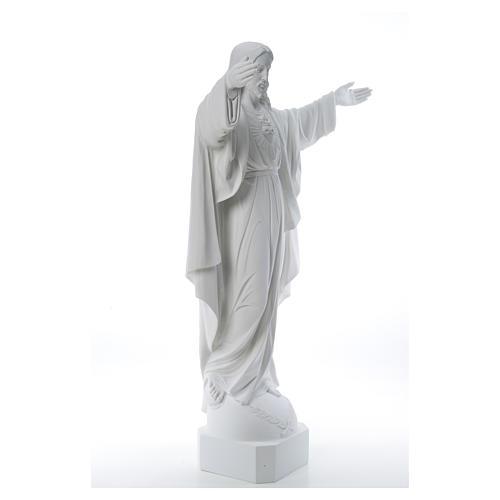 Cristo Redentore marmo 100 cm 12