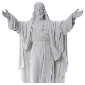 Cristo Redentor mármore 100 cm