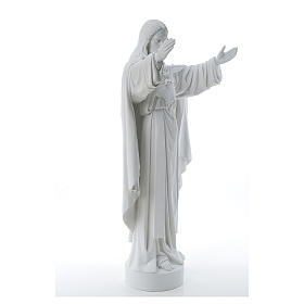 Christ the Redeemer statue in reconstituted Carrara Marble 40-60-80 cm s4