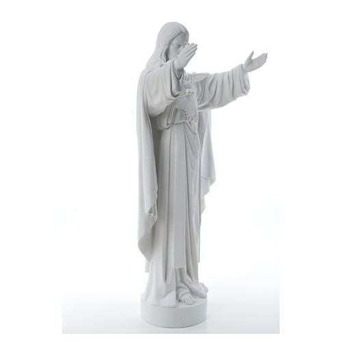 Christ the Redeemer statue in reconstituted Carrara Marble 40-60-80 cm 12