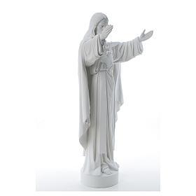 Cristo Redentore polvere di marmo 40-60-80 cm s4