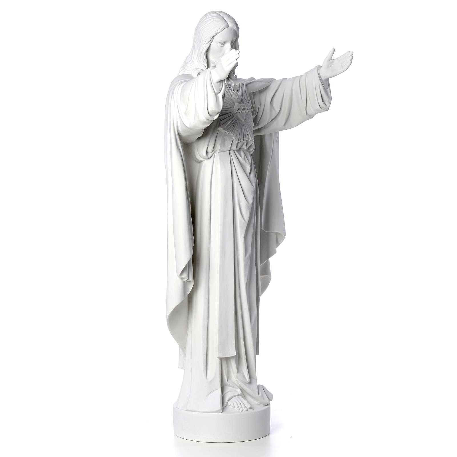 Cristo Redentor pó de mármore 40-60-80 cm 4