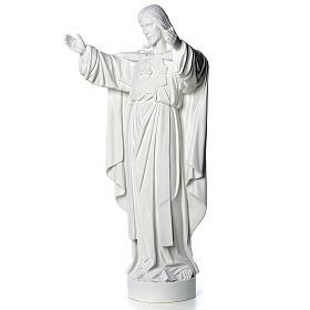 Cristo Redentor pó de mármore 40-60-80 cm s6