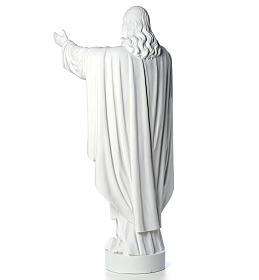 Cristo Redentor pó de mármore 40-60-80 cm s7