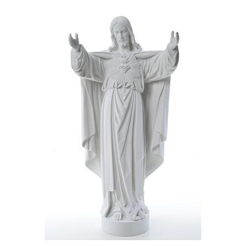 Cristo Redentor pó de mármore 40-60-80 cm 9