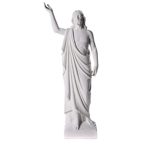 Cristo Redentor de mármol 90cm