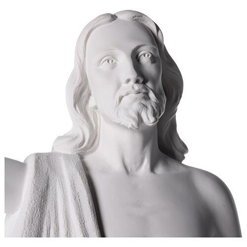 Christ Rédempteur statue pour extérieur 90 cm 4