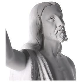 Cristo Redentore 90 cm polvere di marmo