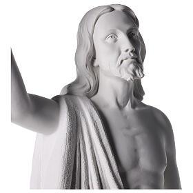 Cristo Redentore 90 cm polvere di marmo s6