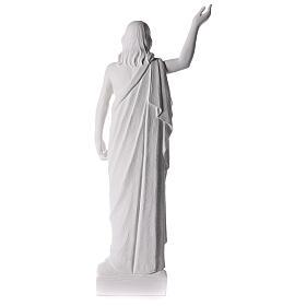 Cristo Redentore 90 cm polvere di marmo s10