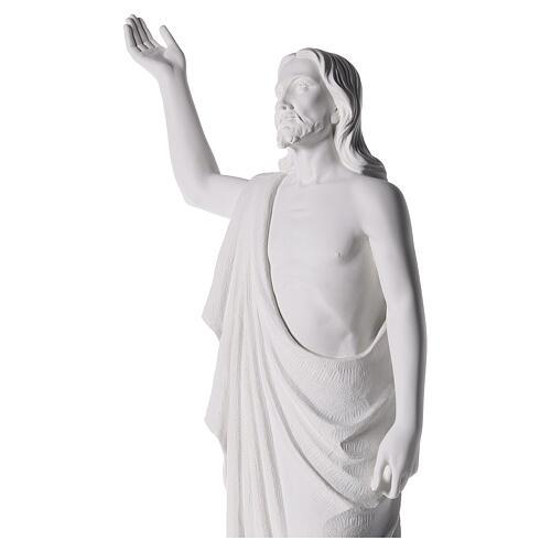 Cristo Redentore 90 cm polvere di marmo 3