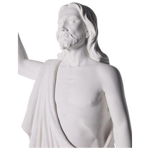Cristo Redentore 90 cm polvere di marmo 8