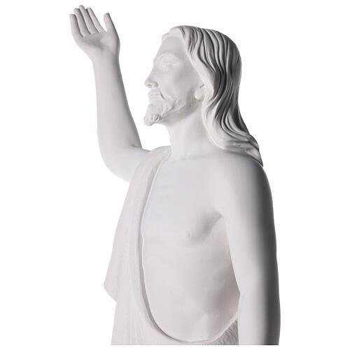Cristo Redentore 90 cm polvere di marmo 9