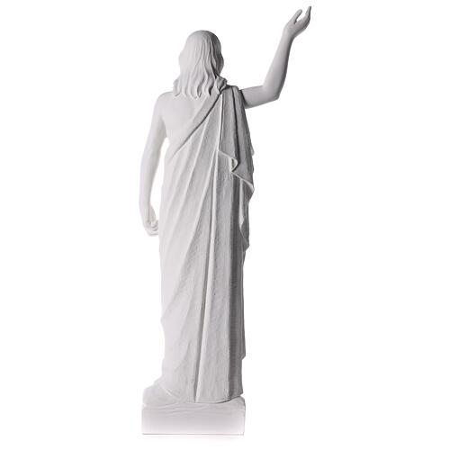 Cristo Redentore 90 cm polvere di marmo 10
